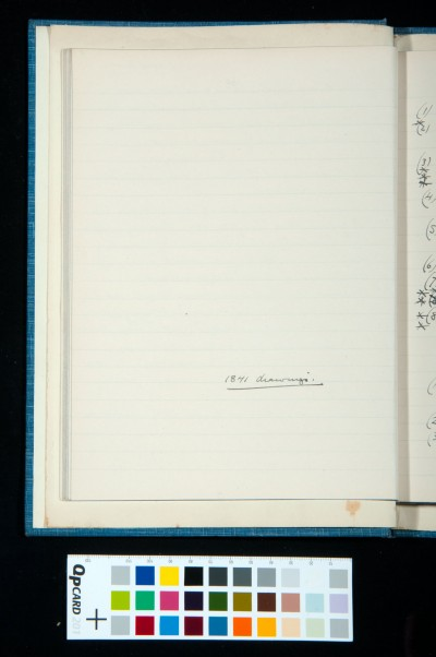 Note relating to the facing page