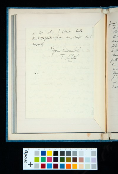 Letter to Kitson from T. Girtin, 1 Jan. 1933 (2)