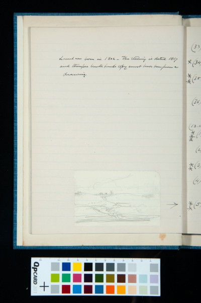 Note on Thomas Lound and sketch of Heath Scene