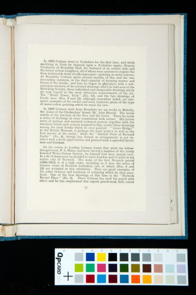 Kitson's essay on Cotman in the catalogue of the exhibition of the Oxford Art Society, 21 March-20 April 1933 (2)