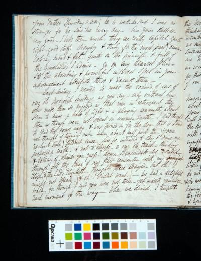 Letter of Arthur Dixon to John Joseph Cotman, 27 March 1834