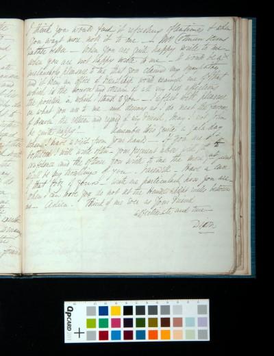 Letter of Arthur Dixon to John Joseph Cotman, 18 August 1834