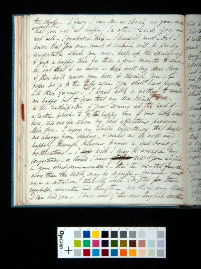 Letter of Arthur Dixon to John Joseph Cotman, 28 August 1834