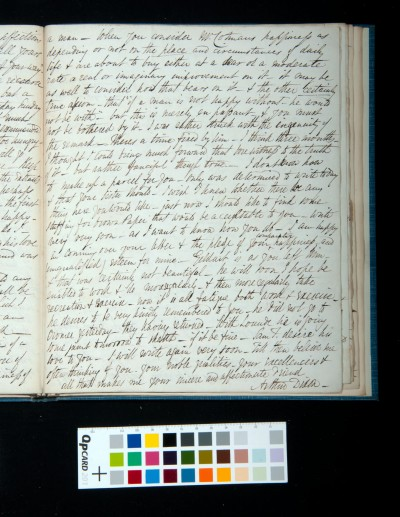 Letter of Arthur Dixon to John Joseph Cotman, 22 September 1834