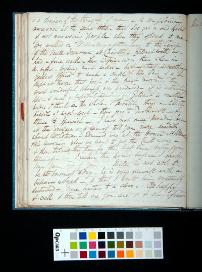 Letter of Arthur Dixon to John Joseph Cotman, 27 September 1834