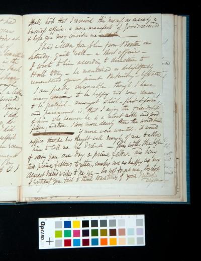 Letter of Arthur Dixon to John Joseph Cotman, 21 October 1834