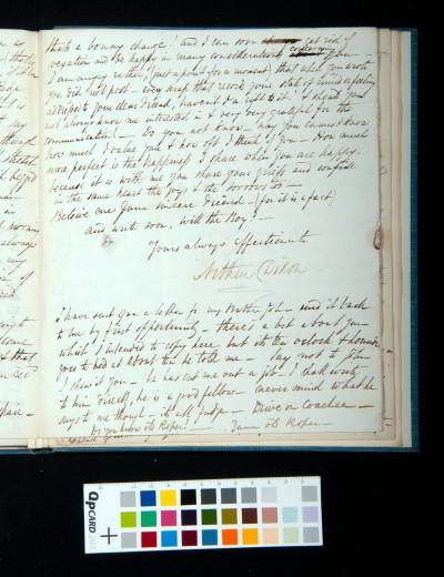 Letter of Arthur Dixon to John Joseph Cotman, 15 November 1834