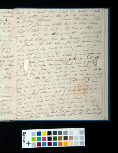 Letter of Arthur Dixon to John Joseph Cotman, 26 July 1835